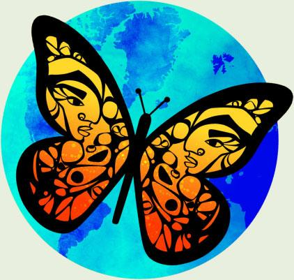 Dreamer Butterfly Artwork